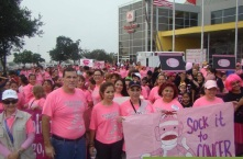 caminata contra el cancer Mc Allen