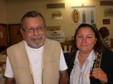 Padre mayor e hija
